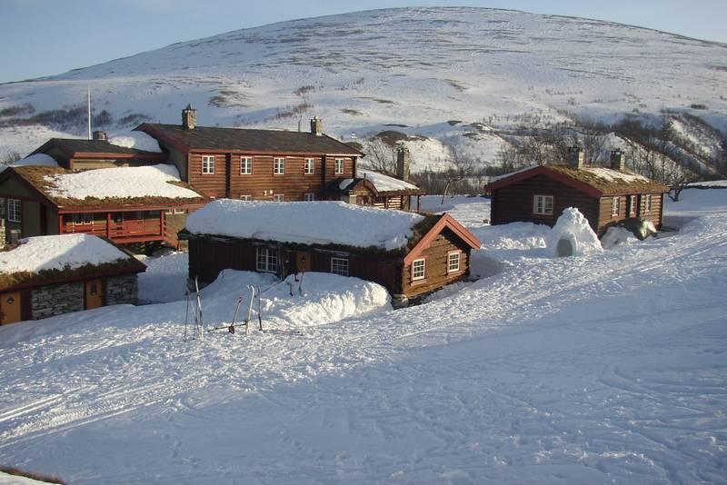 Nydelige vinterforhold på Bjørnhollia