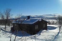 Goldahytta, Indre Troms. 18 Mars 2011  - Foto: Svanhild Dalberg