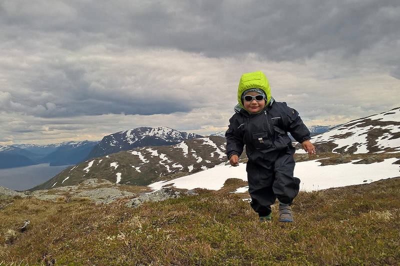 Barnevennlig tur til Maragjølbakken