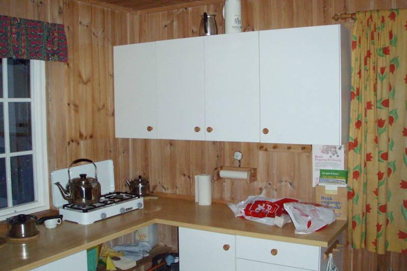Hovstøyl - kjøkkenkrok anneks