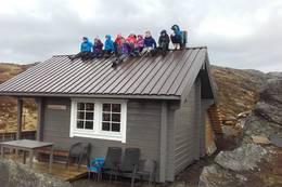 Hytta på Gråhorgja -  Foto: Anne Sofie Sandvik