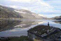 Loennechenbua mellom Dovre og Sunndal  - Foto: Rosanne Ugelstad