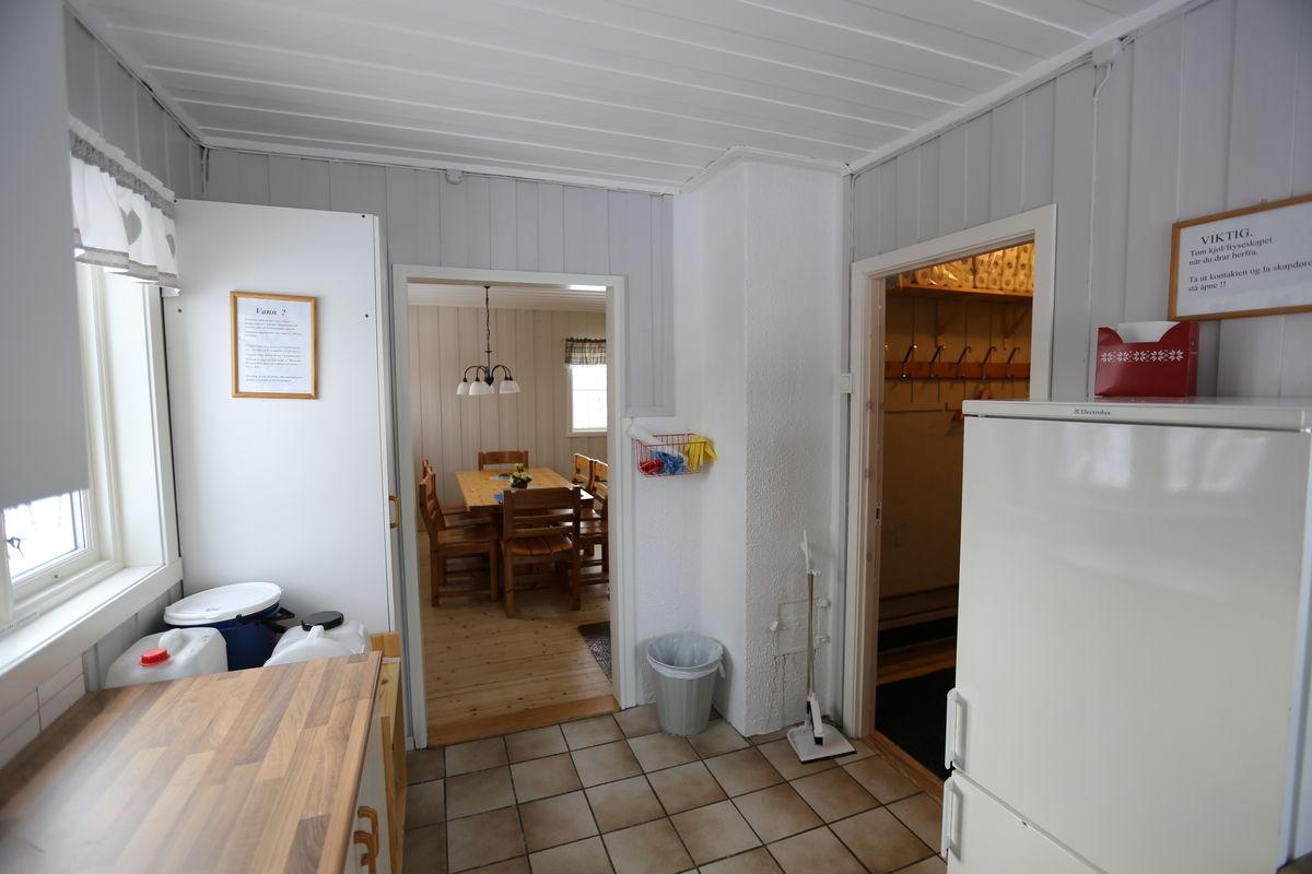 Bjørnhaugen, kjøkken