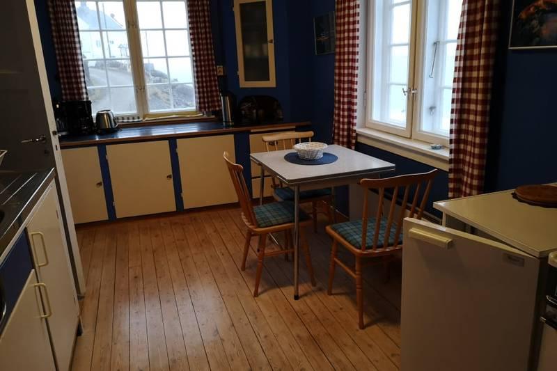 Kjøkkenet i Stormhuset