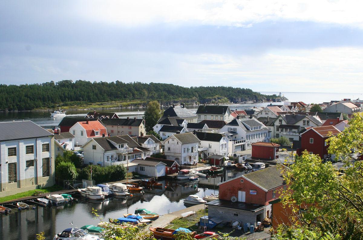 Kongshavn, Langesund
