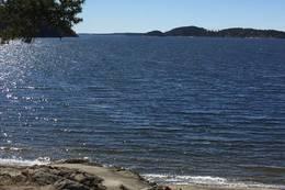 Høysand ligger midtveis på ruta og er det perfekte stedet for en badepause - Foto: Anette Furuli Johannessen
