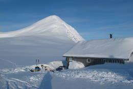 Sauvasshytta vinter 2012 - Foto: Happy Campers/glade-vandrarar.blogspot.no