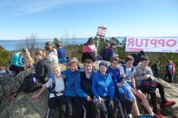 OPPTUR på Geitfjellet -  Foto: Asgeir Våg
