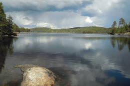 Langsjøen fra sør -  Foto: Trygve Årbog