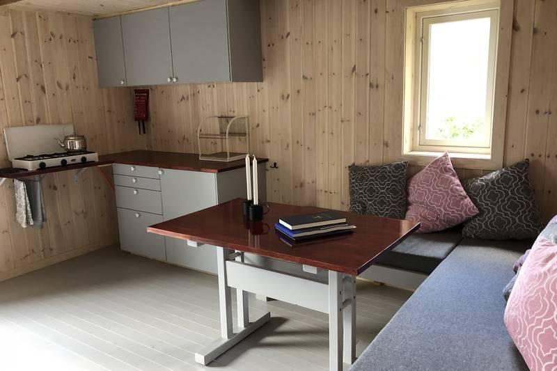 Stue og kjøkkenkrok