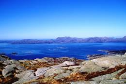 Utsikt fra Kjerringnova -  Foto: Ukjent