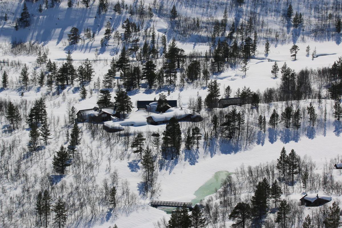 Snørik vinter i Reindalen