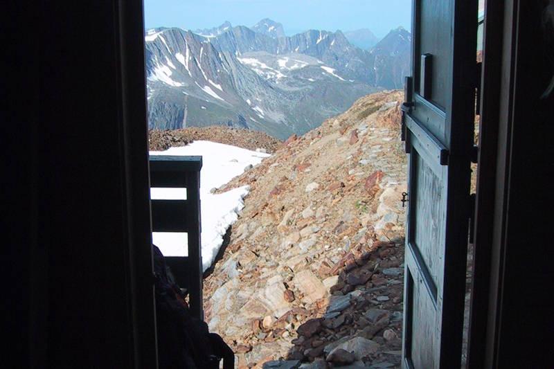 Utsikt ut døra