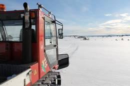 Flotte spor i lett terreng -  Foto: Kristian Sørlund