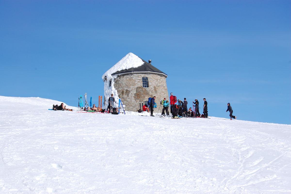 Skålatårnet 1843 moh