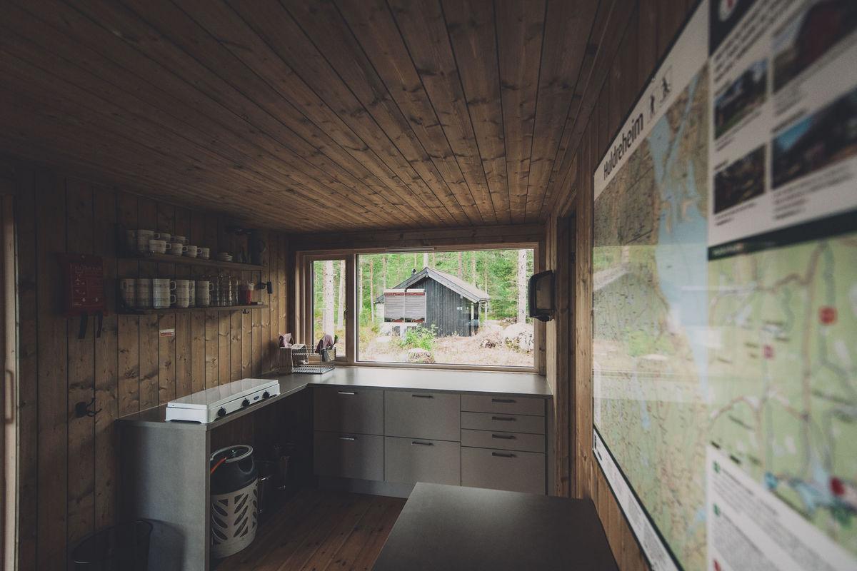 Nytt og fint kjøkken