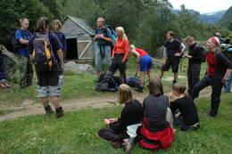 Avmarsj fra Buer - Foto: DNT ung Bergen
