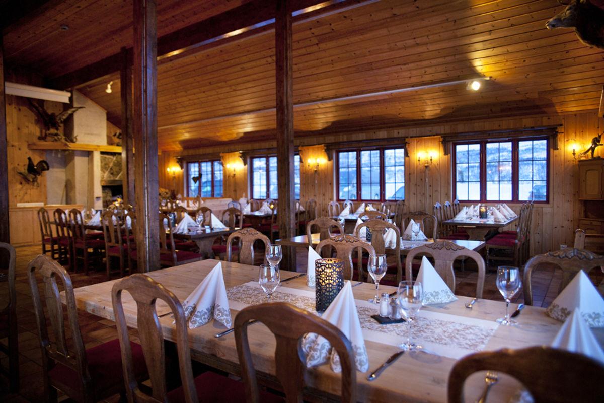 Restauranten på Hovden fjellstoge