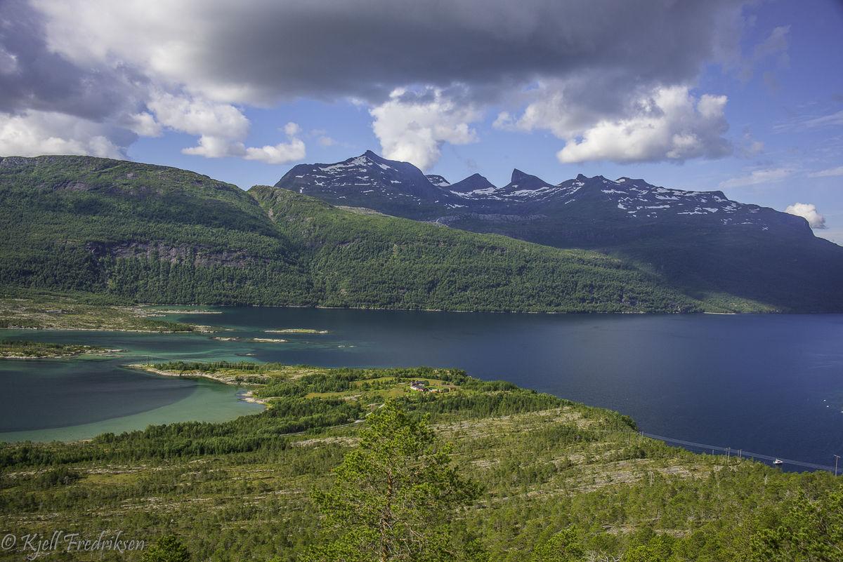 Slutten av Sagfjorden