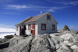 Flott dag ved Holmaskjer 1555 moh. - Foto: Svein Ulvund
