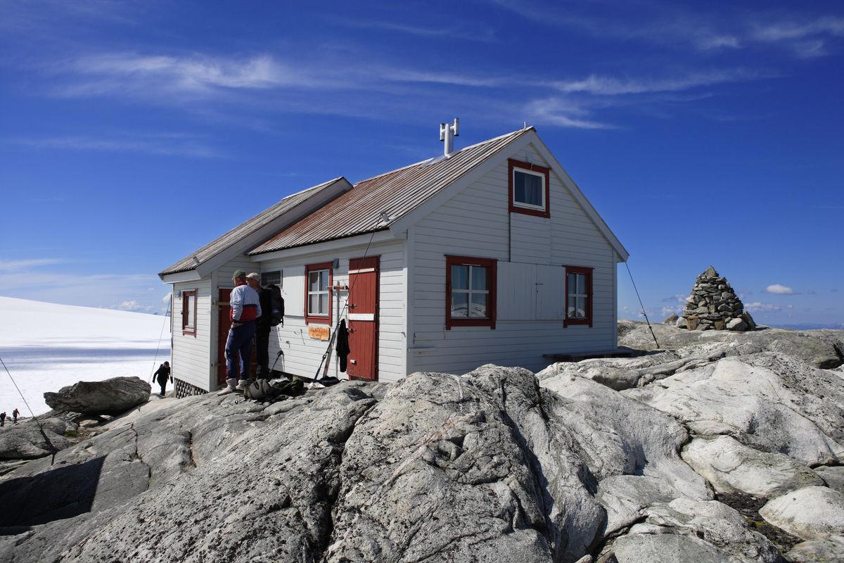 Flott dag ved Holmaskjer 1555 moh.
