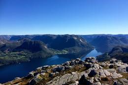 Utsikt mot Frafjord - Foto: Erik Haaland