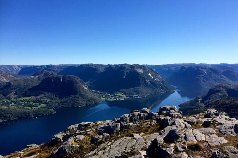 Utsikt mot Frafjord