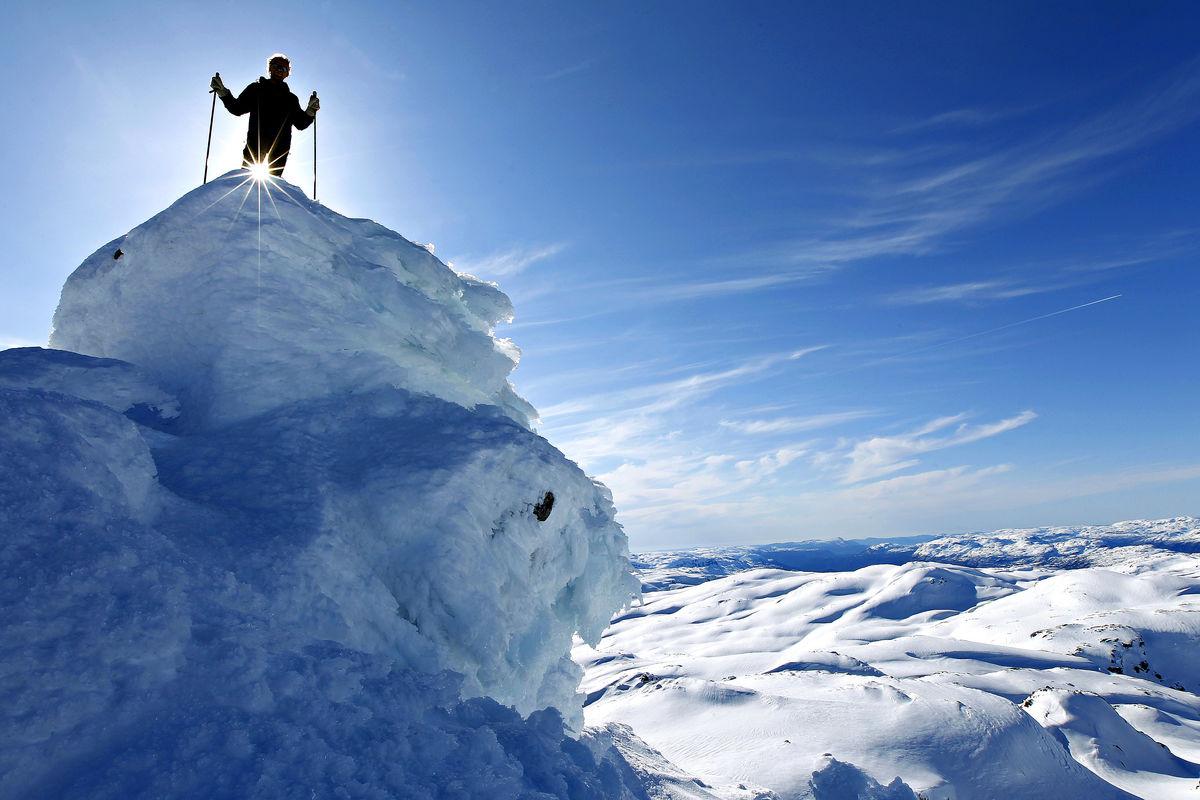 Jonstølen er et perfekt utgangspunkt for toppturer til Snønuten.