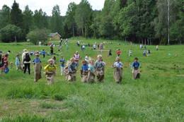 Store gressarealer gir mange muligheter for aktivitet. - Foto: Jan Kenneth Gussiås