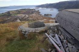 Deler av bunkers - Foto: Kari Raaket