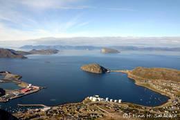 Utsikten fra Tyven er fantastisk! -  Foto: Finn H Småbach