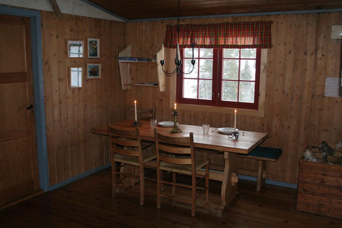 Stuen på Granbustøyl