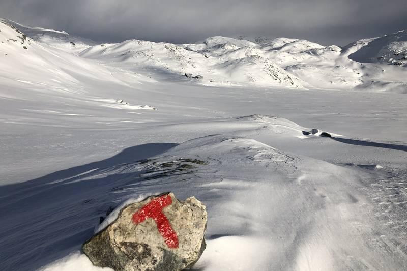 Heibergtunet Storevatn vinter