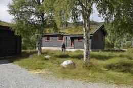Den ubetjente hytta på Ådneram -  Foto: Odd Inge Worsøe