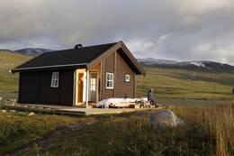 Ny hytte Cunojavri bygd 2016 - Foto: Bjørn Forselv