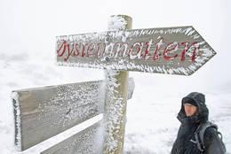Ikke alltid bra vær i Telemark! - Foto: Ottar Kaasa, Notodden