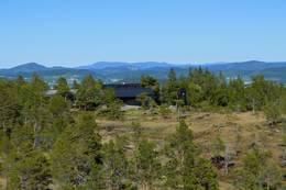 Vassfjellkapellet i juni - Foto: Jon Tingvold