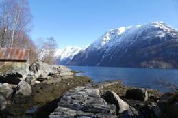 Postvøren ved Sunnylvsfjorden - Foto: Bodil Dybevoll