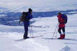 Mot Rondane - Foto: Hilde Løken Magnussen