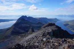 Fantastisk finn utsikt fra toppen. -  Foto: Oddveig Torve