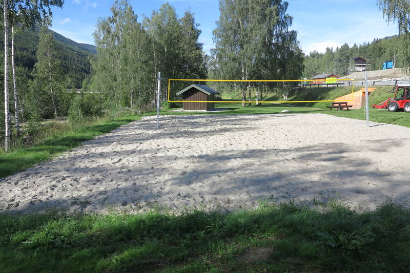 Sandvolleyballbanen