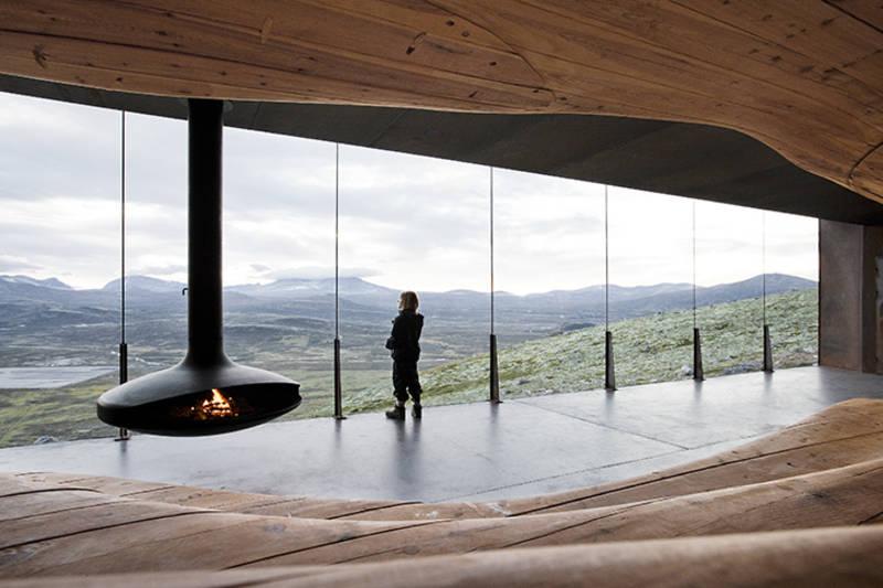Viewpoint Snøhetta interiør