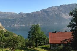 Utsikt Flørli turisthytte - Foto: Lene Rønneberg