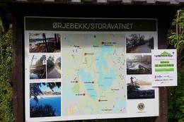 Startpunktet ved Storavatnet -  Foto: Kjartan Andersen
