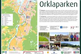 Infotavle - Foto: Orkdal kommune
