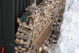 Vinterveden ligger klar på Argalad - Foto: ukjent