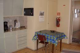 Kjøkkenet på Runde fyr - Foto: O. Remøy