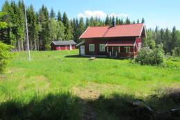 Steinby i Aurskog, overnatting i telt langs ruta - Foto: Dag Olav Brækkan