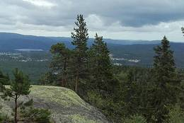 Utsikt fra Signalkulen -  Foto: Sissel Rohølhaugen