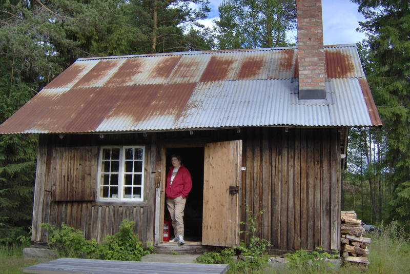 ubetjent hytte, Grue Finnskog, Finnskogen Turistforening